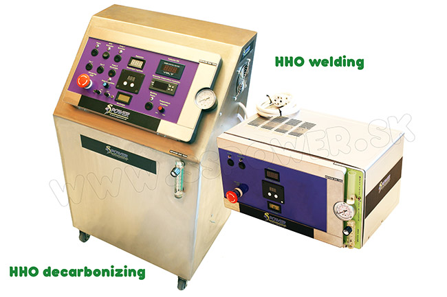 HHO decarbonizing and HHO welding